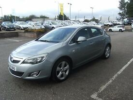 2010 10 VAUXHALL ASTRA 1.4 SRI 5D 138 BHP***GUARANTEED FINANCE***PART EX WELCOME