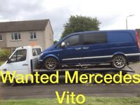 Mercedes Vito van wanted!!! Any condition