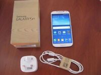 Samsung Galaxy S4 GT-i9505 condition is like new, open to any network.
