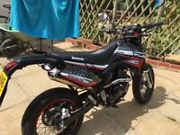 Lexmoto adrenaline 125 cc black and red