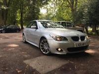 BMW 535D M SPORTS-AUTO-DIESEL-BIG SAT NAV-TV-CAMERA-HEATED LEATHER-FULL POWER 300BHP-RUN LOOK NEW