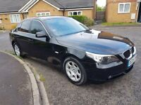 BMW 5 SERIES 525D SE Auto 2.5 Diesel 4dr 2005 BLACK, GENUINE LOW MILEAGE HISTORY.