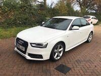 Audi A4 2.0d S-Line White