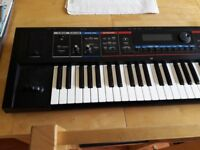Roland Juno Di 61 key synth with soft gig bag