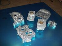 vapour blast cleaning for aluminium parts