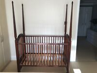 Four poster cot