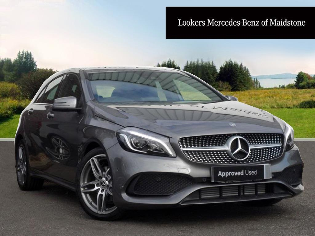 mercedes benz a class a 200 d amg line premium grey 2017 10 31 in maidstone kent gumtree. Black Bedroom Furniture Sets. Home Design Ideas