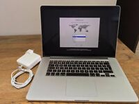 "Apple MacBook Pro Retina 15.4"" Mid-2012 2.3GHz i7 Quad Core 8GB RAM MC975B/A"