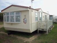 willerby Lyndhurst static caravan 37x12 foot 2 bedrooms plus pull out bed for sale