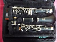 As New Yamaha Bb Clarinet YCL 255 for sale