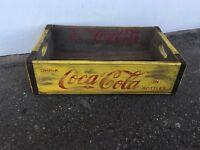 VINTAGE Coca Cola crates , Storage crates