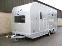 Used Ifor Williams Eventa L Gold Horse Trailer 2015