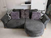 DFS scatter back sofa and cuddler sofa