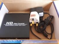 HD VIDEO CONVERTER SCART TO HDMI
