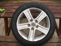 MAZDA ALLOY AND NEW TYRE