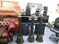 Garden ornaments on stands