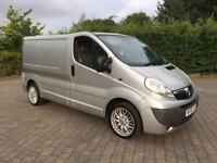 2008 Vauxhall Vivaro 2.0 CDTI Sportive SWB Van, NEW MOT, A/C, ALLOYS, NO VAT (Renault Trafic Sport)