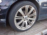 BMW 1 3 Series 18'' alloy wheels & tyres E36 E46 Z3 Z4 E87