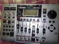 Boss br 864 digital recording studio.