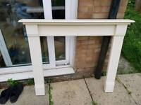 Fire place surround (wooden)