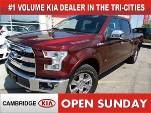 2015 Ford F-150 CREW CAB /  LARIAT / NAV / PANO ROOF