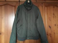 Men's Casual Lined Jacket Size XXL Chest 44 -50 Ins, Zara Man, in Very Good Condition.