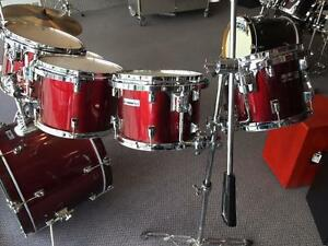 "Batterie/Drums Taye RockPro Series Shell Kit usagée/used tom:10-12-13-14-16"" bass drum 22"""