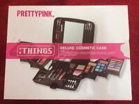 PrettyPink Deluxe Cosmetic Case