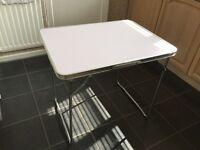 Folding camping/garden/picnic aluminium table
