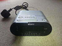Sony fm/am clock radio icf-c218 dream machine all in good working order