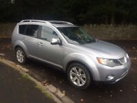 Mitsubishi Outlander 2.2 DIAMOND 5d 156 BHP FULL LEATHER 7 Seater