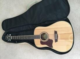 Washburn acustic guitar left handed