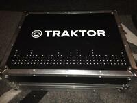 Native Instruments Traktor Kontrol S4 DJ Controller plus flight case