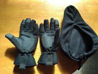 Winter Bike Gloves / Gel Pad Bike Seat
