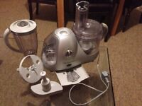 Food processor, blender, chopping attachments