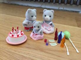 Sylvanian Families Birthday Celebration Set