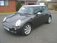MINI COOPER PARK LANE 2006 EVERY EXTRA F,S,H £2695