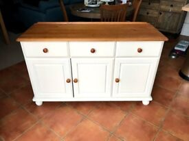 Painted Pine Sideboard. Shabby Chic/Upcycled