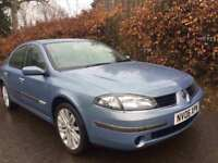 RENAULT LAGUNA EXTREME ** 2006** LOW MILES** MOT EXPIRES MARCH 2019** GREAT FAMILY CAR**