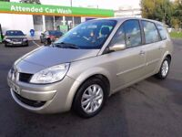 7 SEATER RENAULT GRAND 1.6 MANUAL IN EXCELLENT CONDITION. LONG MOT. FULL SERVICE HISTORY. HPI CLEAR