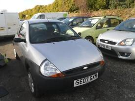 FORD KA 1.3i Studio [70] 3dr IDEAL 1ST CAR WILL HAVE 1YEARS MOT, LOW INSURANCE 750 (silver) 2007