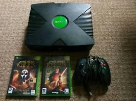 Microsoft Original Xbox console, controller, games