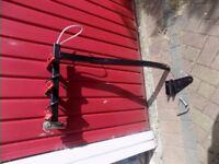 tri- rxx 3 bike carrier with tow bar attachment with secuity locking points