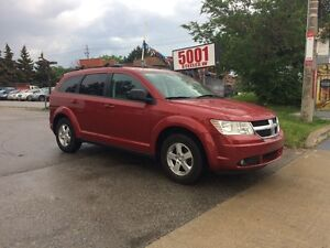 2009 Dodge Journey 132KM,SAFETY+3YEARS WARRANTY INCLUDED