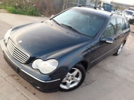 LHD mercedes C 200 diesel with A/C, we have more left hand drive ---15 cheap cars on stock---