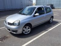 2007/56 RENAULT CLIO 1.2 WITH LONG MOT