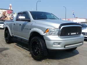 2012 Ram 1500 Laramie 4x4|LIFTED|LOADED|LEATHER|TONS OF EXTRAS
