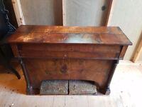 Antique pump/pedal organ