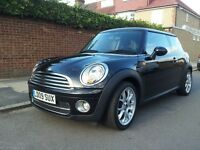 MINI COOPER D 1.6 DIESEL 09 2009 MOT AND TAXED FSH £20 RD TAX CHILLI PACK SHOWROOM CONDITION