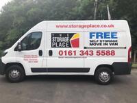 Free van with all unit rentals
